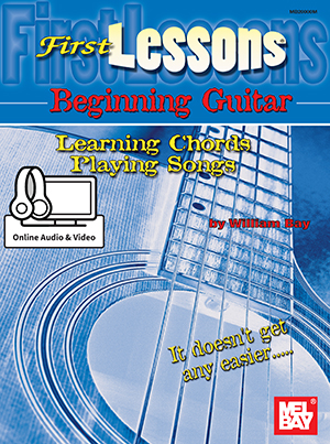 First Lessons Beginning Guitar Learning Chordsplaying Songs Book
