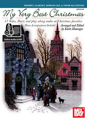 My Very Best Christmas, Trumpet, Clarinet, Soprano Sax Book