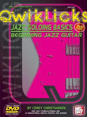 Jazz Soloing Basics DVD Chart