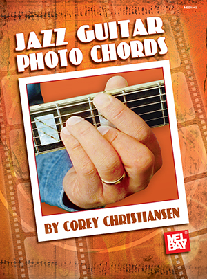Jazz Guitar Photo Chords Book Mel Bay Publications Inc Mel Bay