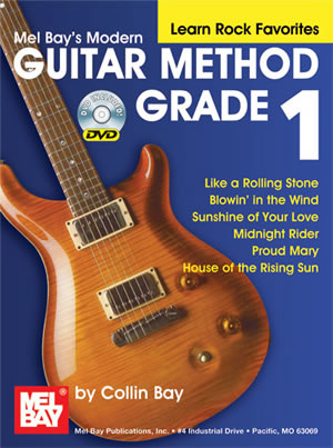 Modern Guitar Method Grade 1, Learn Rock Favorites Book/DVD Set ...