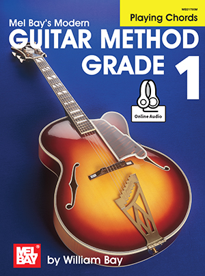 Modern Guitar Method Grade 1, Playing Chords Book + Online Audio ...