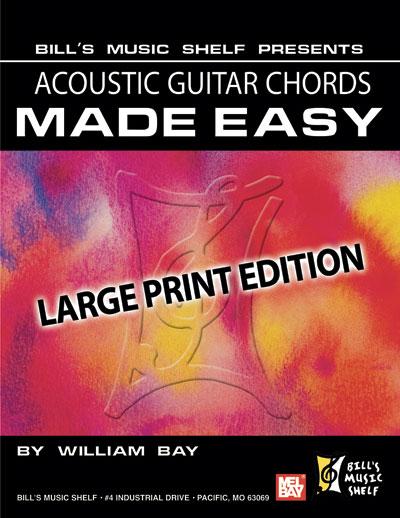 Acoustic Guitar Chords Made Easy eBook - Bill\'s Music Shelf : Mel Bay