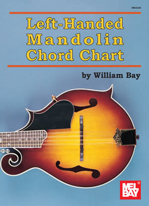Left Handed Mandolin Chord Chart Chart Mel Bay Publications Inc