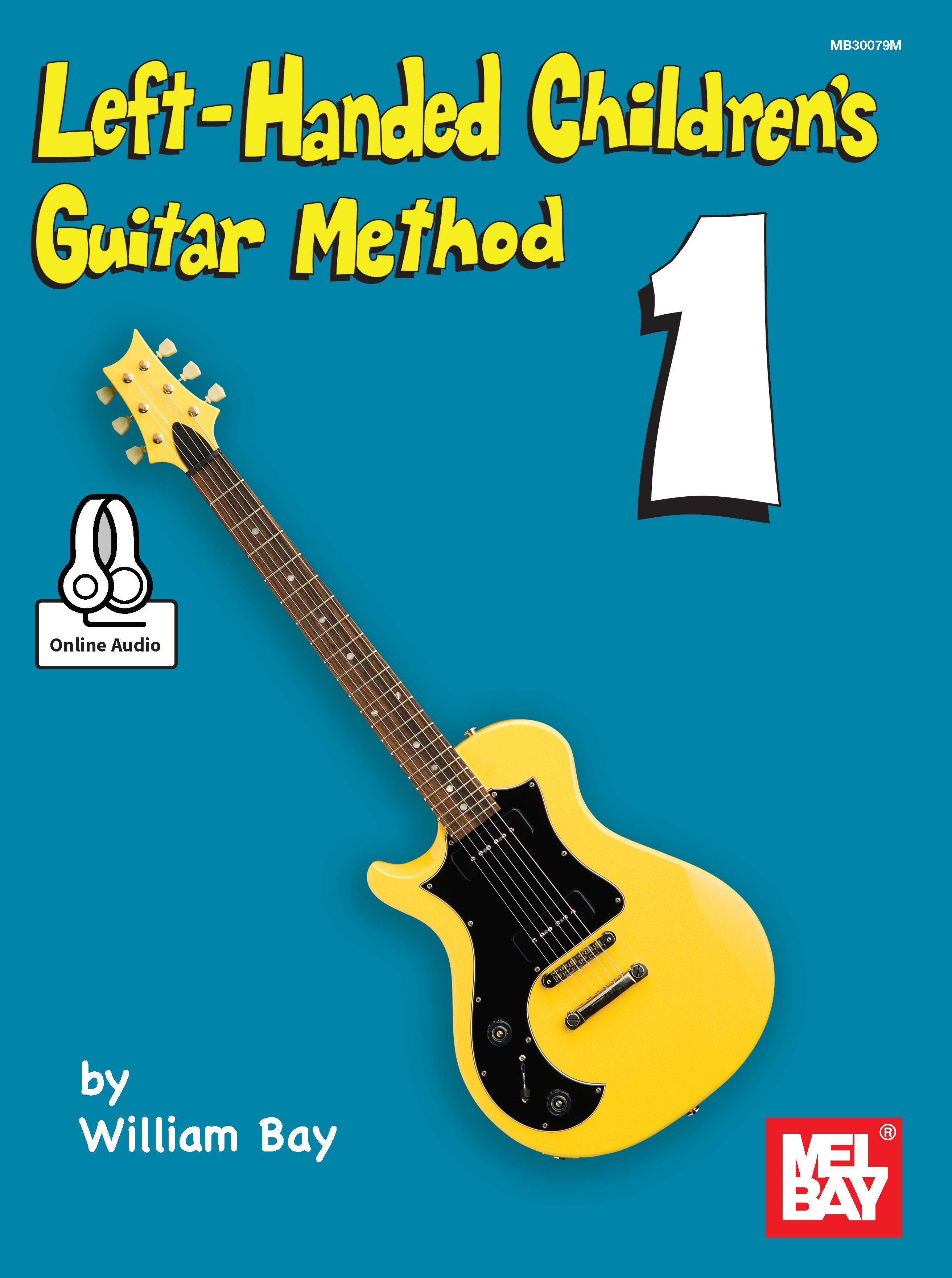 Left Handed Childrens Guitar Method Ebookonline Audio Mel Bay