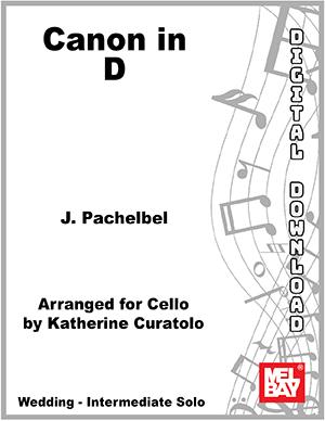 Canon In D Digital Sheet Music Mel Bay Publications Inc Mel Bay