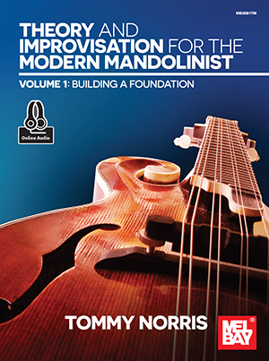 Theory and Improvisation for the Modern Mandolinist, Volume 1 Book +