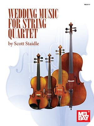 Wedding Music for String Quartet Book + Insert - Mel Bay