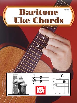Baritone Uke Chords Book Mel Bay Publications Inc Mel Bay