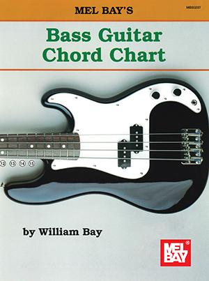 Bass Guitar Chord Chart Chart - Mel Bay Publications, Inc. : Mel Bay