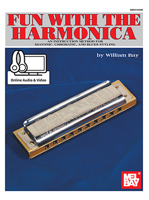 Fun with the Harmonica Book + Online Audio/Video - Mel Bay