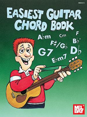 Easiest Guitar Chord Book Book Mel Bay Publications Inc Mel Bay