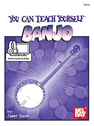 You Can Teach Yourself Banjo Book Online Audio Video Mel Bay Publications Inc Mel Bay
