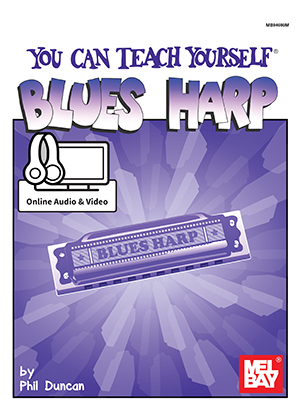 You Can Teach Yourself Blues Harp eBook + Online Audio/Video - Mel