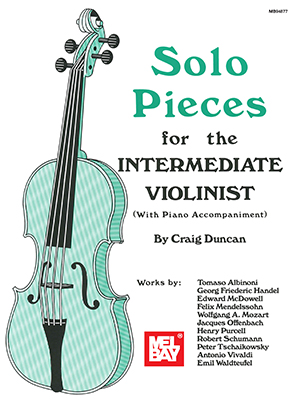 Solo Pieces for the Intermediate Violinist Book + Insert