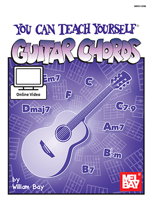 You Can Teach Yourself Guitar Chords Book Online Video Mel Bay