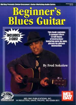 Beginner's Blues Guitar Book/3-CD Set - Grossman's Guitar