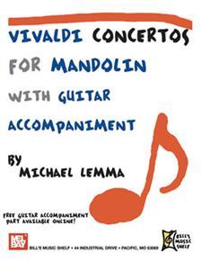Vivaldi Concertos for Mandolin Book + Online PDF Supplement