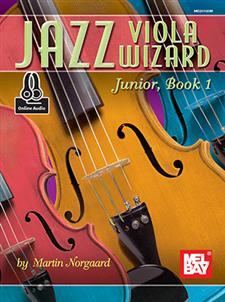 Jazz Viola Wizard Junior, Book 1