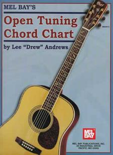 Open Tuning Chord Chart