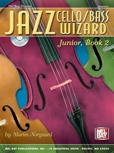 Jazz Cello/Bass Wizard, Junior, Book 2