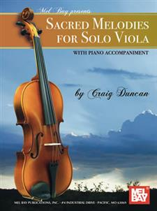 Sacred Melodies for Solo Viola