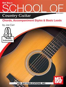 School of Country Guitar: Chords, Accompaniment Styles & Basic