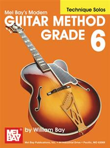 Modern Guitar Method Grade 6, Technique Solos