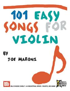 101 Easy Songs for Violin