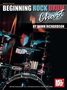 Beginning Rock Drum Chart