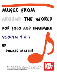 Music From Around The World - Solo & Ensemble