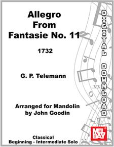 Allegro from Fantasie no. 11