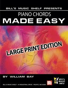 Piano Chords Made Easy, Large Print Edition