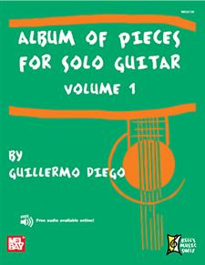Album of Pieces for Solo Guitar, Volume 1