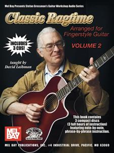 Classic Ragtime Guitar, Volume 2