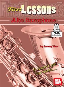 First Lessons Alto Saxophone