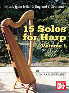 15 Solos for Harp Volume 1