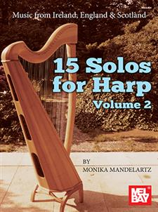 15 Solos for Harp Volume 2