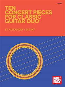 Ten Concert Pieces for Classic Guitar Duo