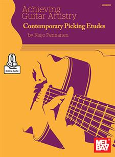 Achieving Guitar Artistry - Contemporary Picking Etudes