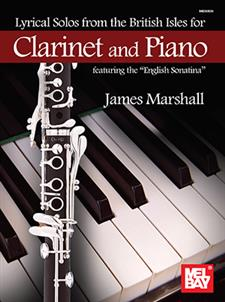 Lyrical Solos from the British Isles for Clarinet and Piano