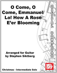 Come, O Come, Emmanuel/Lo! How a Rose E'er Blooming