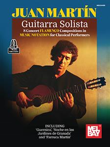 Guitarra Solista - 8 Concert Flamenco Compositions in Music Notation
