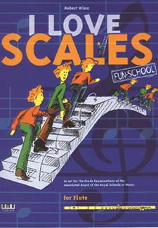 I Love Scales for Flute