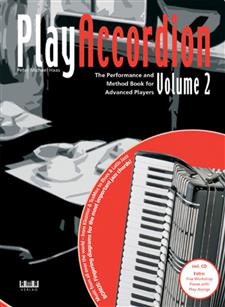 Play Accordion Volume 2 Book/cd