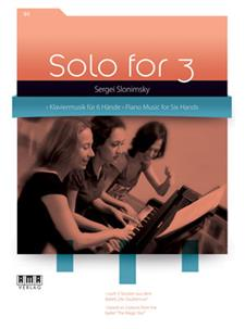Solo for 3 Piano Vol 1 Music for 6 Hands Sergei Slonimsky