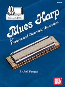 Blues Harp - Diatonic & Chromatic Harmonica
