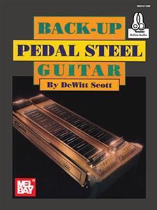 back up pedal steel guitar book online audio mel bay publications inc mel bay. Black Bedroom Furniture Sets. Home Design Ideas