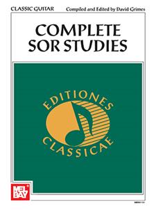 Complete Sor Studies for Classic Guitar