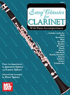 Easy Classics for Clarinet - With Piano Accompaniment